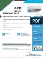 02 Plaque Standard BA13