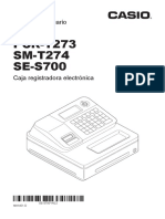 Manual Casio Pcr-t273