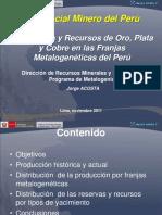 potencialminerodelperproduccinyrecursosdeoroplataycobreenlasfranjasmetalogenticasdelper-120418115319-phpapp01