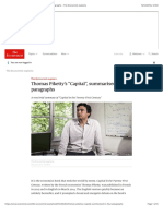 "Thomas Piketty's ""Capital"", Summarised in Four Paragraphs - The Economist Explains"