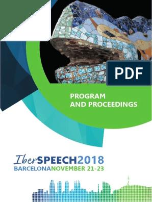 IberSPEECH 2018 Proceedings | Speech Synthesis | Human