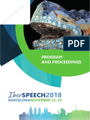 IberSPEECH 2018 Proceedings | Speech Synthesis | Human Communication
