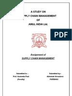 Supply Chian of AMUL