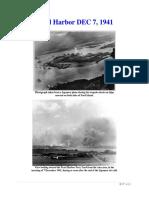 Mil Hist - WWII Pearl Harbor DEC 7, 1941