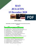 Bulletin 181215 (HTML Edition)