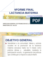 Informe Final de Lactancia Materna.ppt
