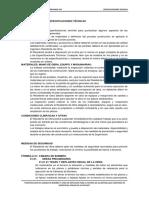 ESPECIFICACIONES TECNICAS CAMARAS DE BOMBEO