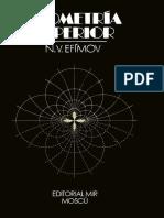 Geometría Superior -Efimov- Editorial Mir.pdf