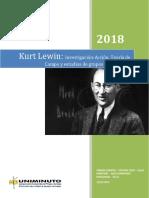 Kurt Lewin y La Teoría Del Campo