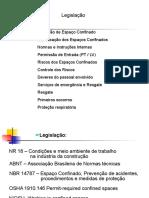 ESPAÇO CONFINADO - TREINAMENTO
