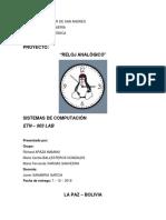 Analogic Clock