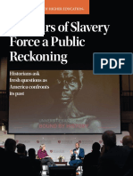 Scholars of Slavery Force a Public Reckoning
