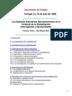 Los Sistemas Educativos Iberoamericanos