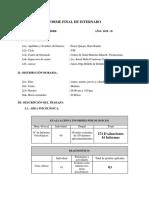 Informe Final de Internado II