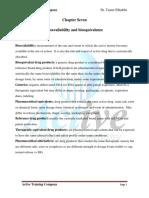7.Bioavilability