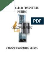 Catálogo de Peças Furgao - Espanhol