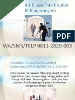 TERMURAH!!! Jasa Foto Produk UKM Banjarnegara, WA/SMS/TELP 0811-2829-003