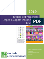 IT-GAER-2009-17 - Estudio de Frecuencias Para Investigacion e Innovacion - 2010 - CostaRica
