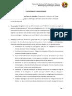 Plataforma de Lucha FNTMMSP