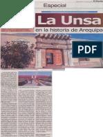 La UNSA en la historia de Arequipa,  Alejandro Málaga