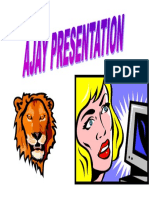 Ajay Presentation