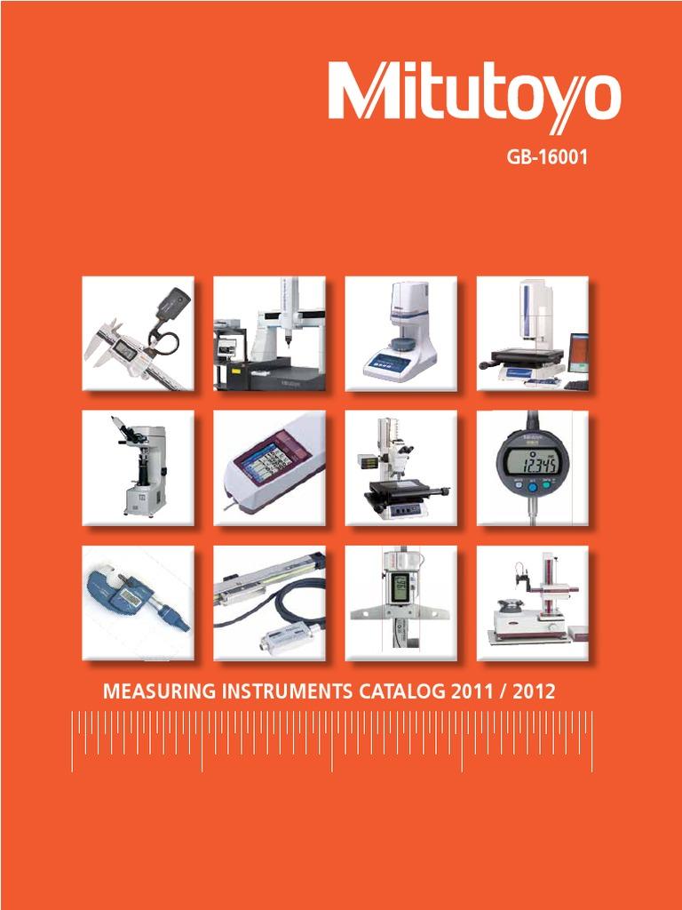 0-1 Range 0.0001 Graduation Mitutoyo 103-135 Outside Micrometer Friction Thimble Plus //-0.0001 Accuracy