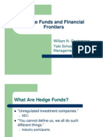 Hedge Funds and Financial Frontiers