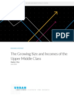 The Growing Size and Incomes of the Upper Middle Class