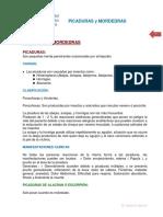 9 Mordeduras y Picaduras