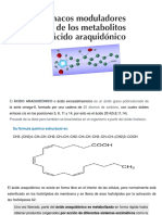 UNIDAD 3 Fármacos Moduladores de Metabolitos Del ACIDO ARAQUIDONICO (1)