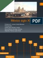México Siglo XIX Línea de Tiempo
