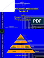 Uptime 8 -Total Productive Maintenance