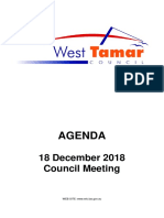 West Tamar Council Agenda