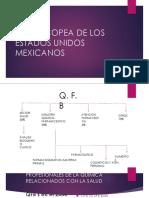 FARMACOPEA DE LOS ESTADOS UNIDOS MEXICANOS