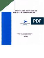 protocolo dinoprostona