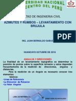 4.-Azimutes y Rumbos- Levantamiento Con Brujula