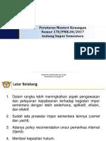 Impor Sementara 178 PMK.04 2017