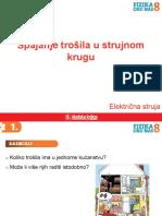 SK 3. Spajanje Trosila u Strujnom Krugu