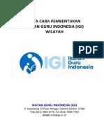Tata Cara Pembentukan IGI(2)