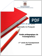 Guide pedagogique fran+ºais 1eAP version finale 01-07-2018