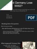 German WW2 Loss