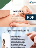 Imunisasi Puskesmas Berseri