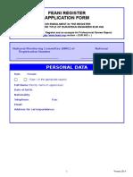 EURING Applicationform en 2014