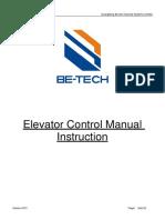 Manual-RFID Elevator Controller Manual Instruction