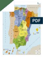 Mapa Politico Espana 1