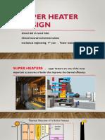 Super Heater Design