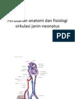 Perubahan Anatomi Dan Fisiologi Sirkulasi Janin-neonatus PLENO
