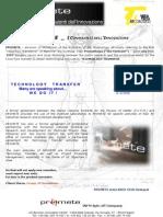 Brochure-Scheda Promete English FRONTE