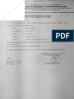 Surat Sehat Pino Rinando