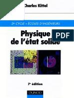 Charles Kittel-Physique de l'État Solide-Dunod (1998)